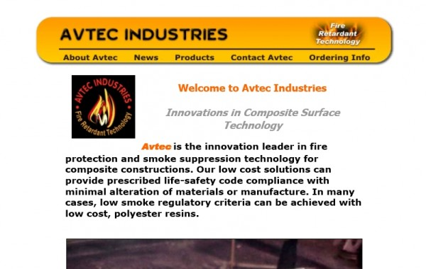 Avtec is the innovation leader in fire protection and smoke suppression technology